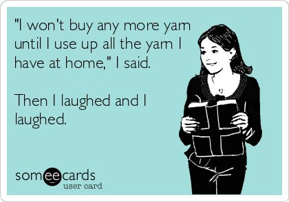 Yarn crochet quote