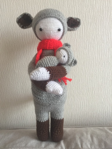 Lalylala kira the koala finished toy