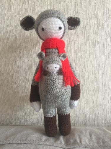 Lalylala Kira the Koala finished doll