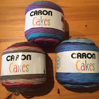 Caron Cake yarn for crochet project