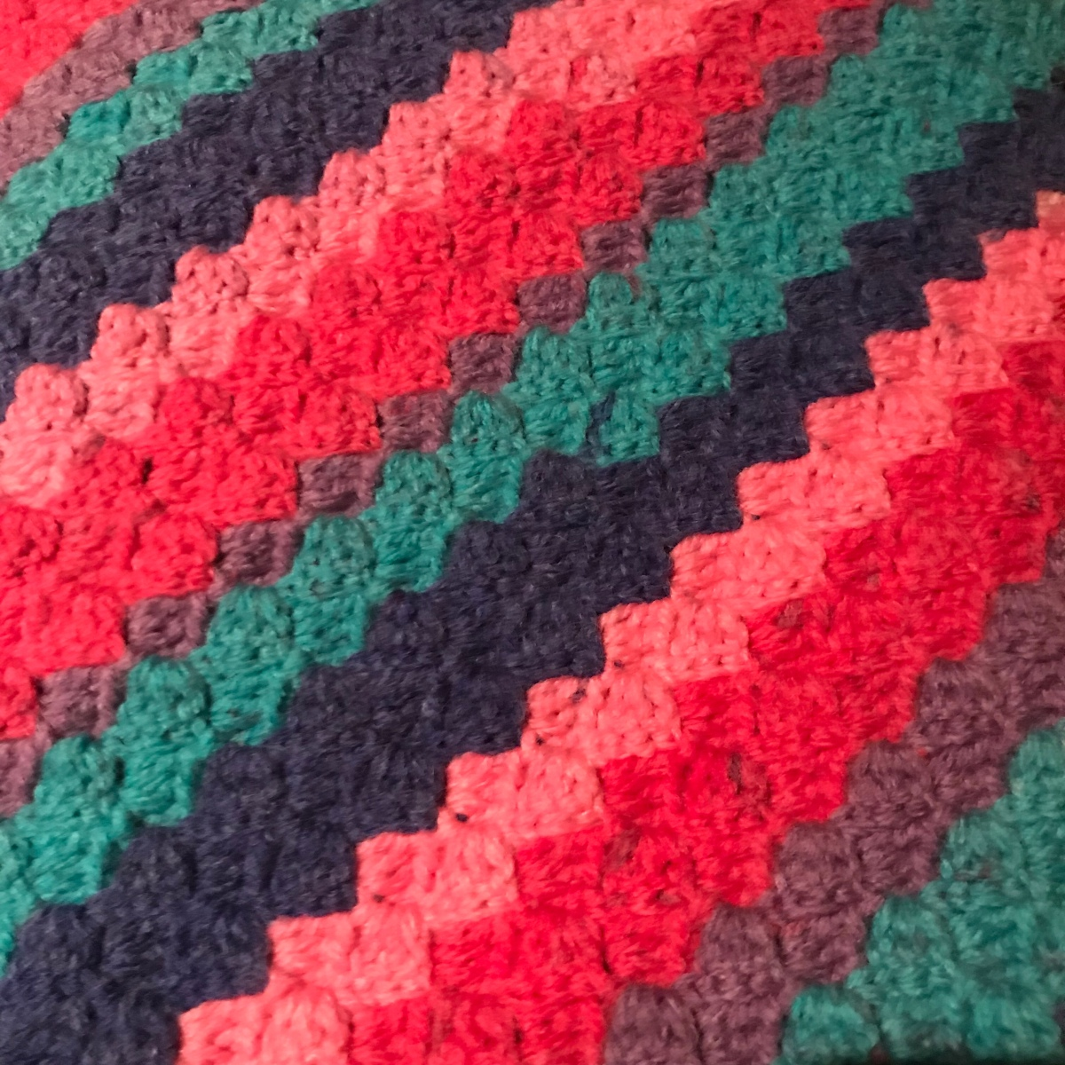 C2c Rectangle Blanket Crochet And The Cat